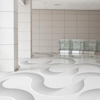Fresky – na podlahu