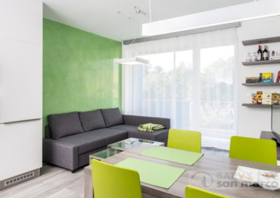 Obývací pokoj s jídelnou – GRASSELLO DI CALCE