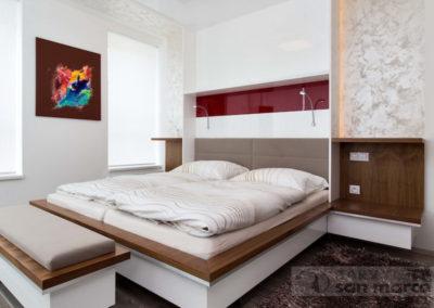 Ložnice, pracovna, obývací pokoj – MARCOPOLO LUXURY