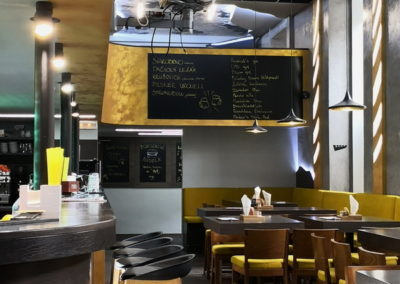 Restaurace Mazaný Anděl v Brně
