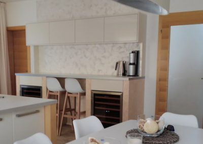 Obývací pokoj s jídelnou, chodba – MARCOPOLO LUXURY